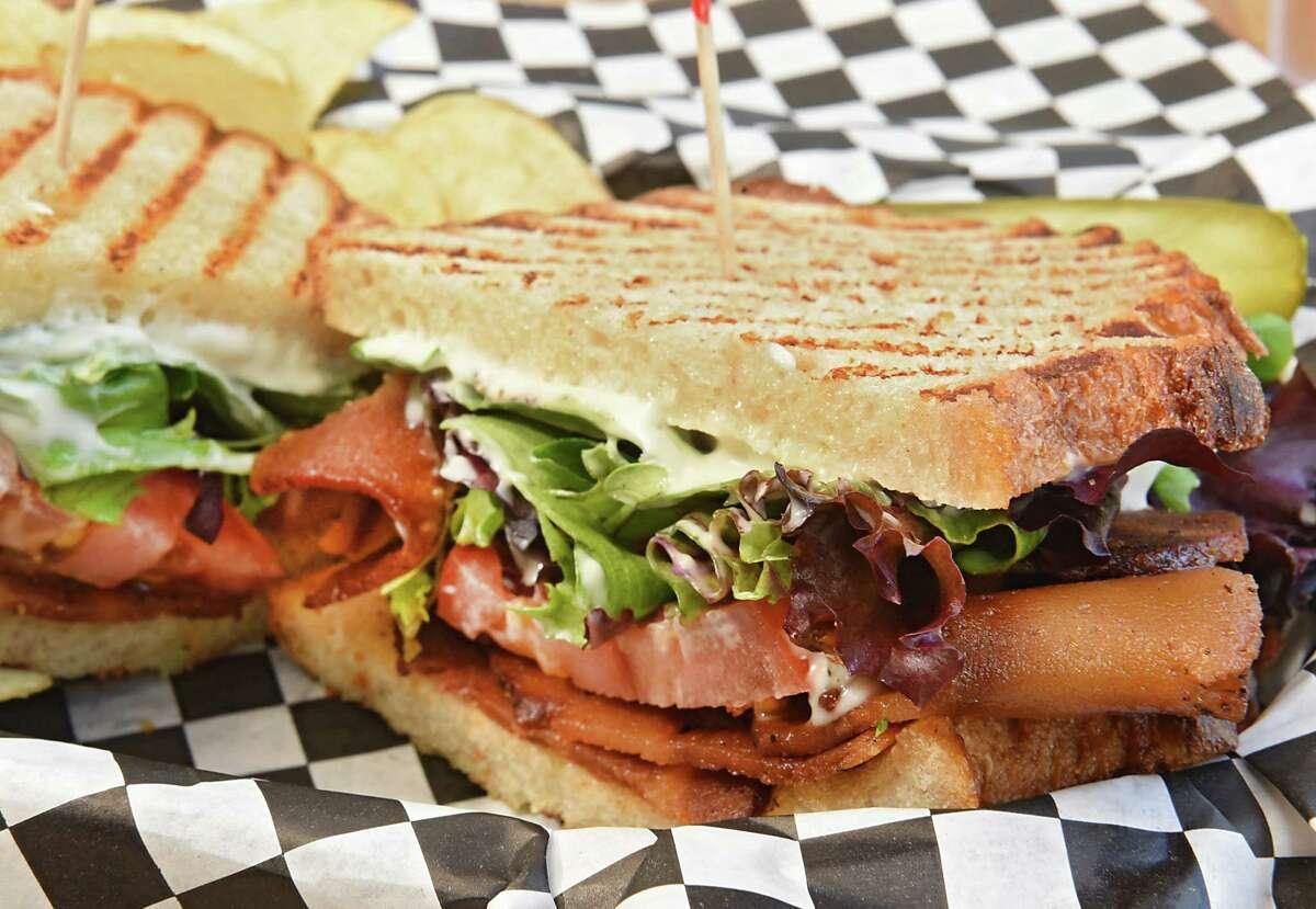 BLT sandwich at Berben & Wolff's Delicatessen on Wednesday, May 8, 2019 in Albany, N.Y. (Lori Van Buren/Times Union)