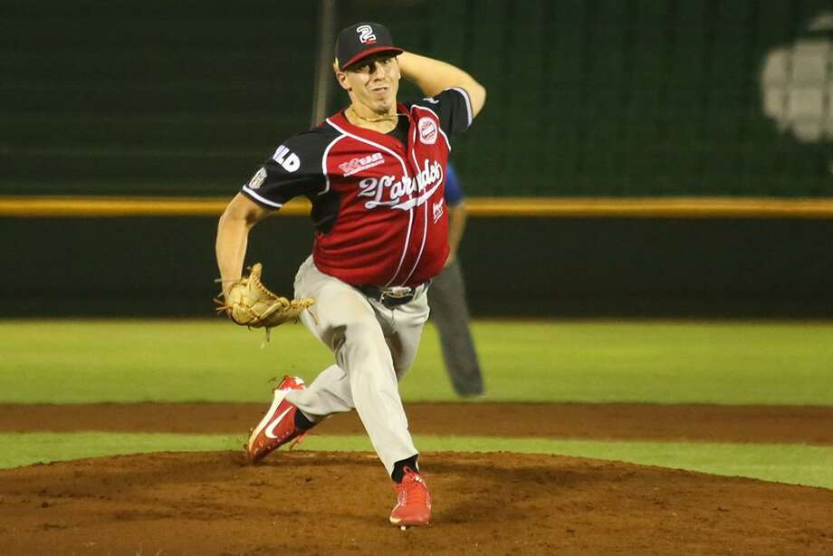 Tecos pitcher Luke Heimlich tied career bests in innings pitched (7.0), hits allowed (4) and earned runs allowed (0), tossing his second shutout in 16 starts Saturday. Photo: Courtesy Of The Tecolotes Dos Laredos /file