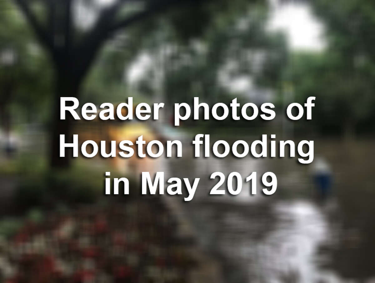 Keep clicking through the following gallery to see reader-submitted photos of flooding through the Houston area in May 2019.