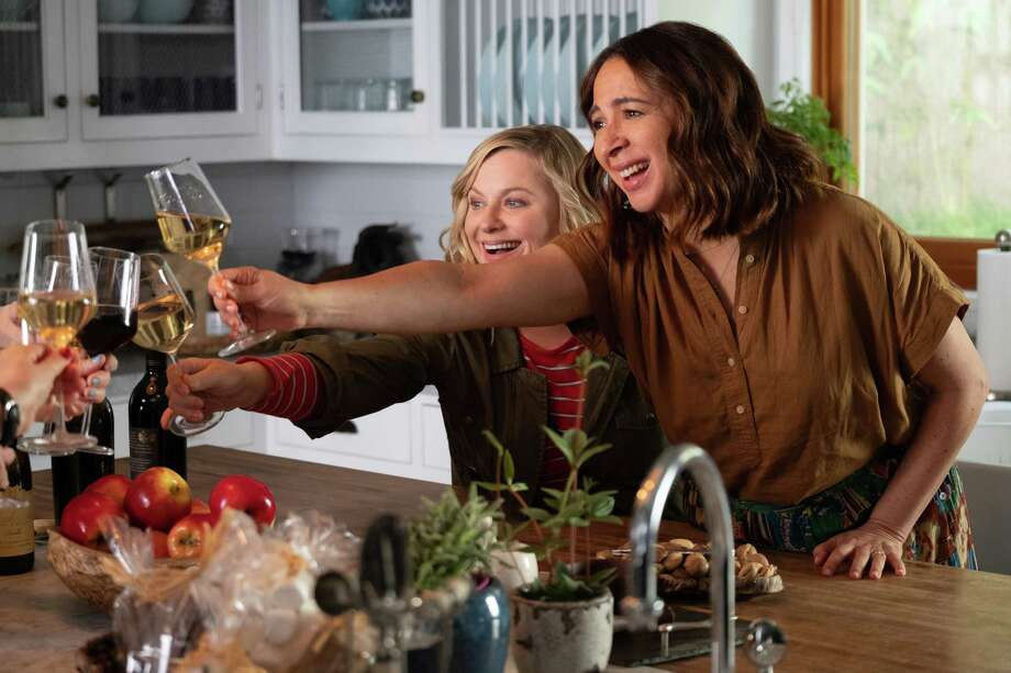 "Amy Poehler, left, and Maya Rudolph in ""Wine Country."" Photo: Colleen Hayes, HBO / HBO"