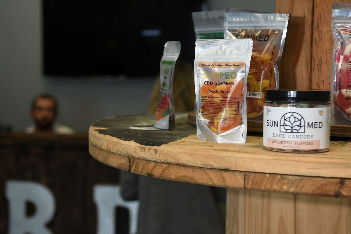 CBD Gummies and Hard Candies are two of the wide selection of SUNMED products offered at your CBD store at 4027 FM 2920 in Spring.