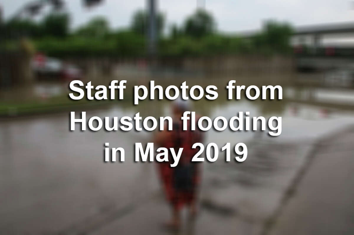 Keep clicking through the following gallery to see staff photos from Houston flooding in May 2019.