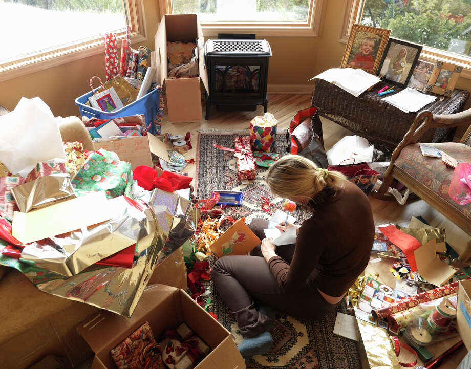 A woman doesn't mind living in a mess. Photo: Ascent/PKS Media Inc./Getty Images