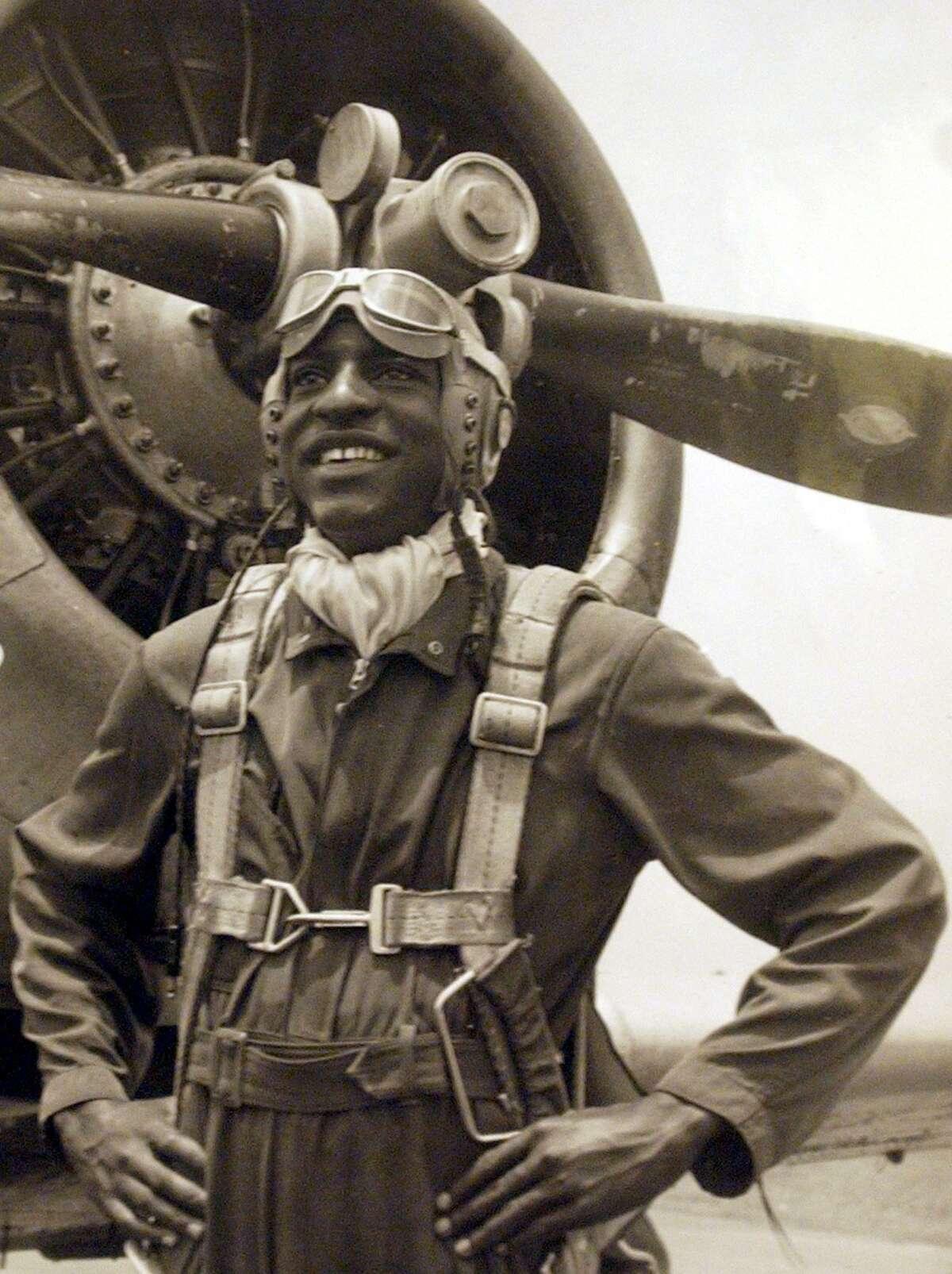 Tuskegee Airman Granville Coggs.
