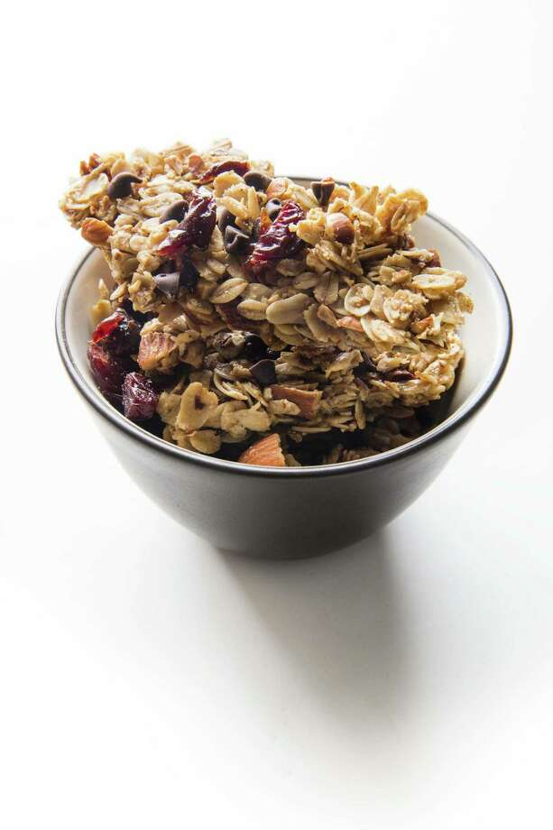 Cherry-Chocolate Chip Granola (recipe in column) Photo: America's Test Kitchen / 2016 Keller + Keller