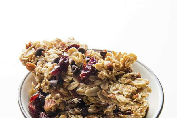 Cherry-Chocolate Chip Granola (recipe in column)