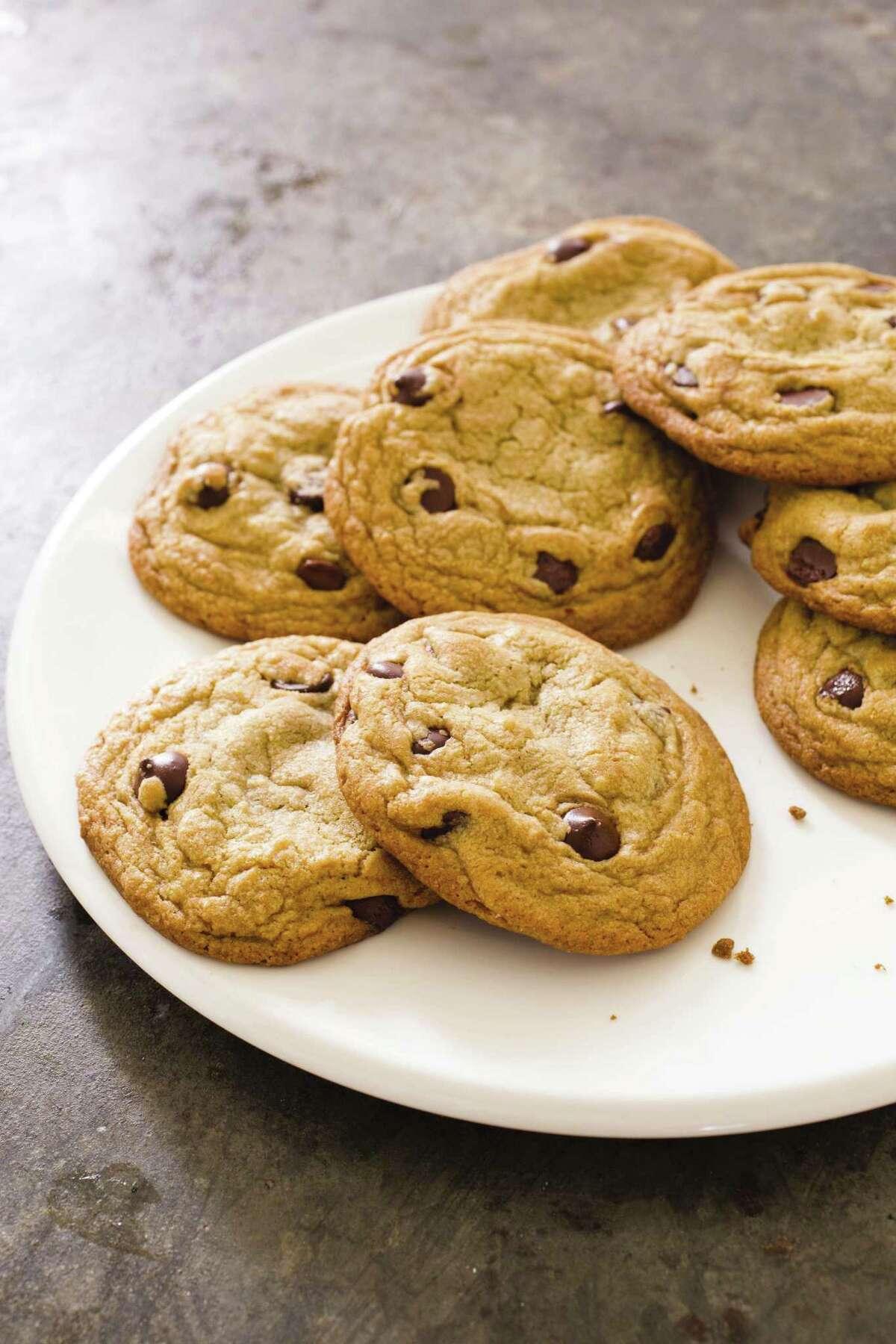Perfect Chocolate Chip Cookie (recipe in column)
