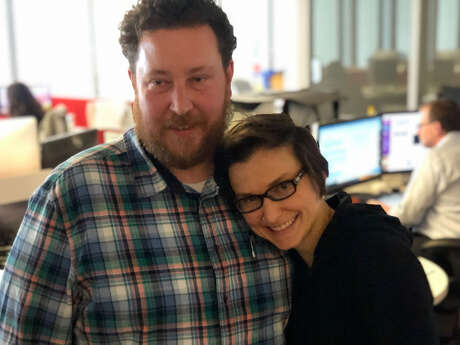 Brian Rogers and Keri Blakinger on Rogers' last day at the Houston Chronicle.