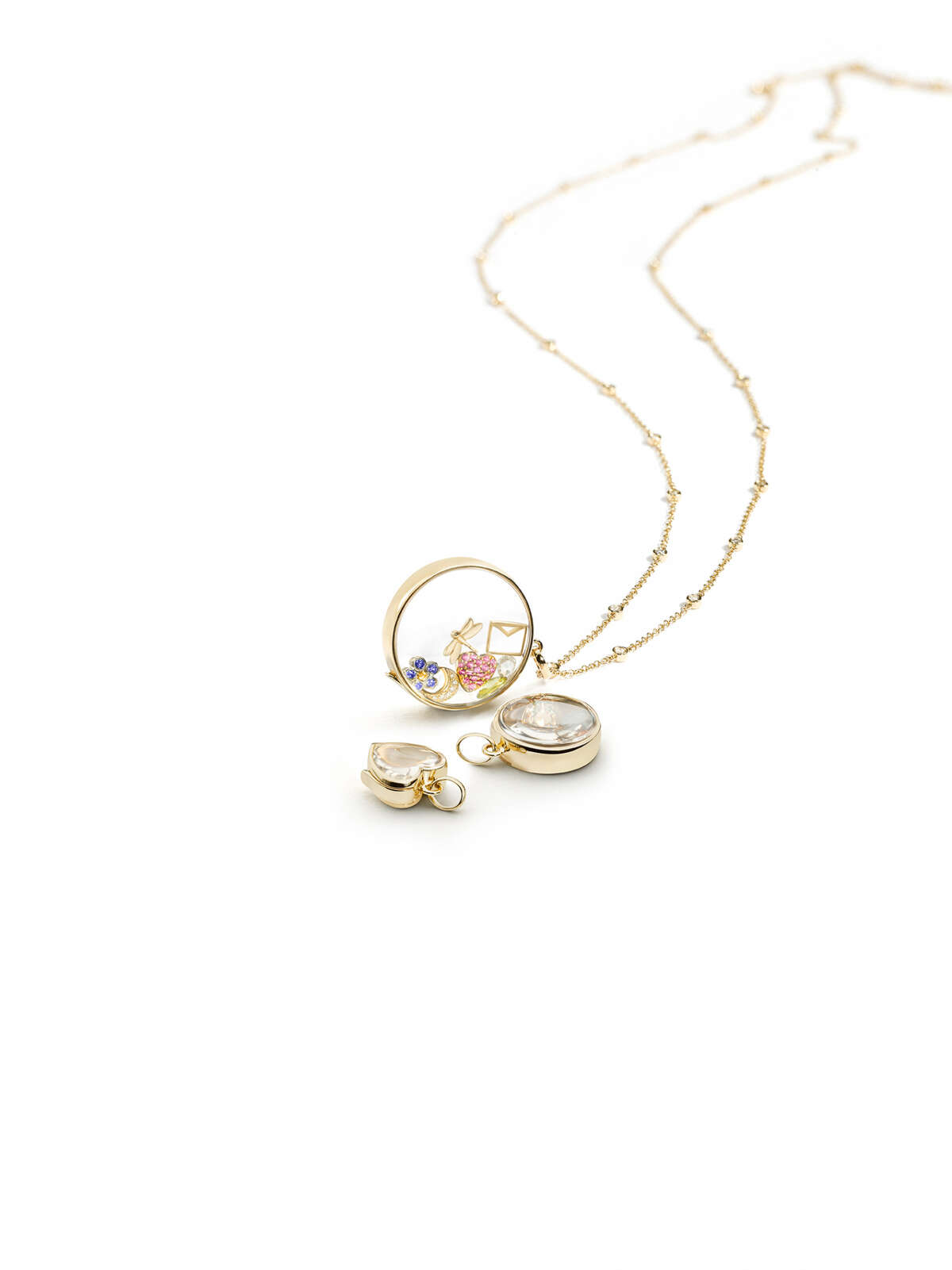 Mom will get a locket necklace from the hotel's designer boutique, 29° North.