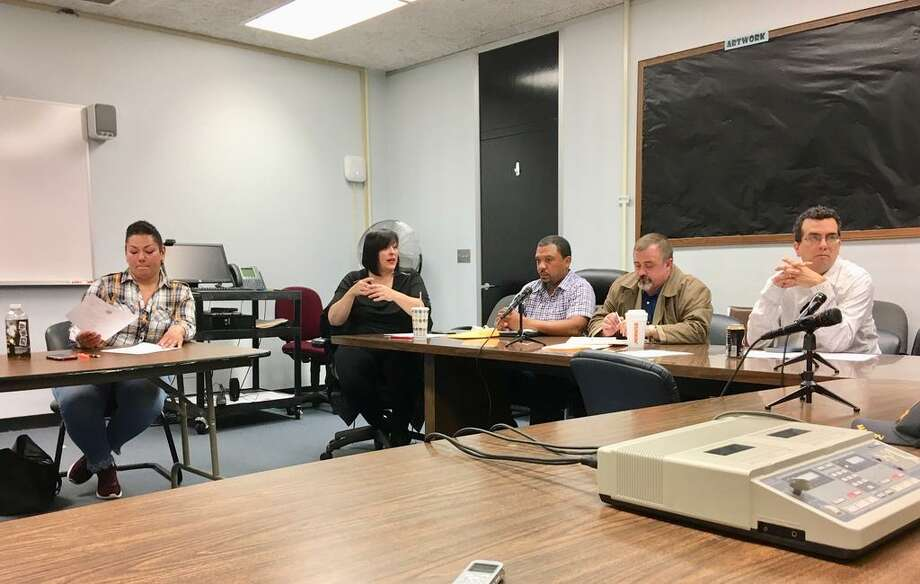 The Bridgeport Board of Education holds a special meeting to start the superintendent search process. May 9, 2019 Photo: Linda Conner Lambeck