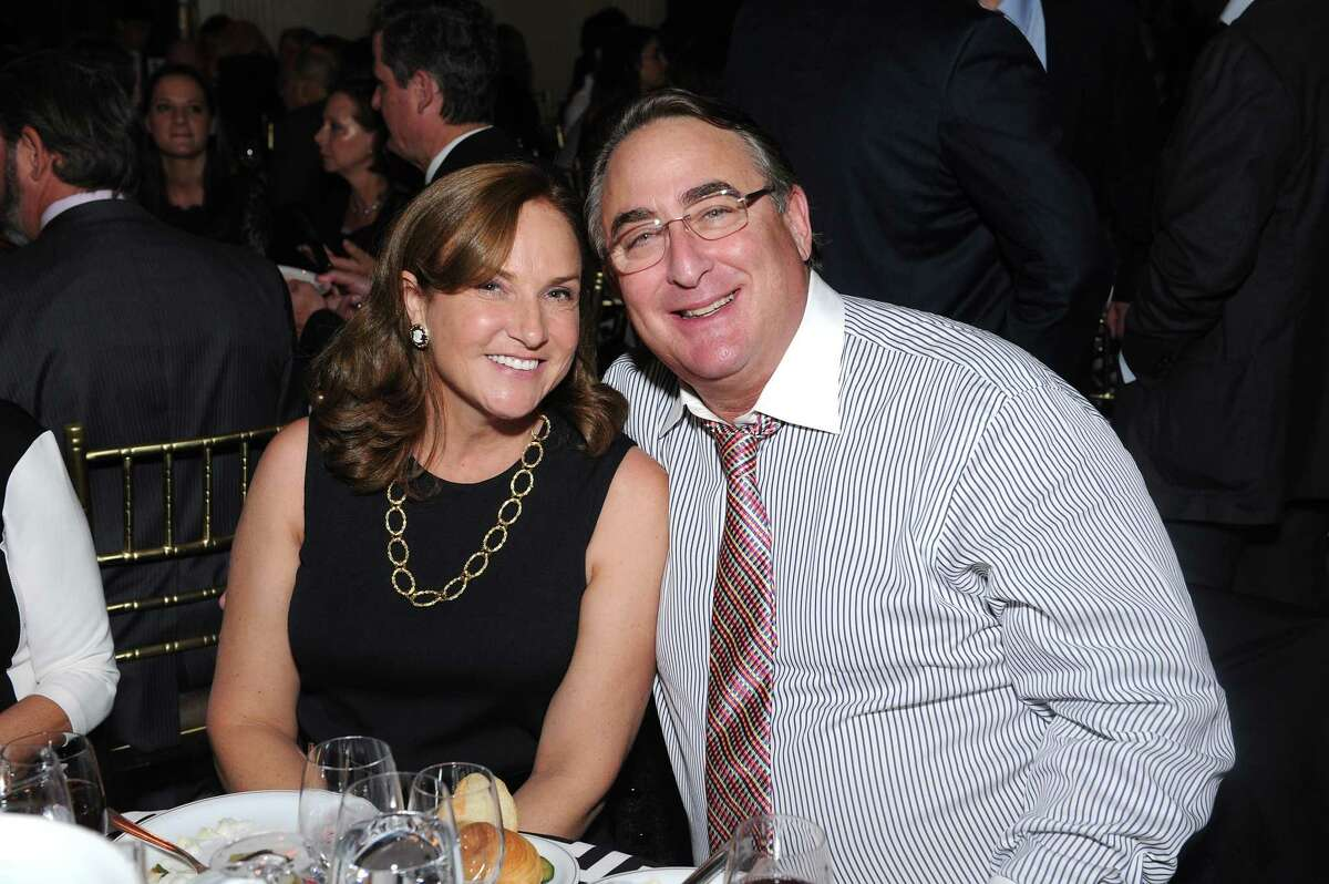 Diana Katz and Adam Katz attend a benefit dinner on November 12, 2015 in New York City. (Photo by Craig Barritt/Getty Images for Samuel Waxman Cancer Research Foundation)