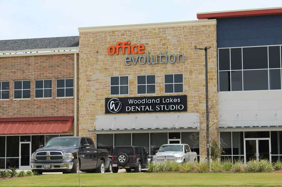 Office Evolution is now open. The contemporary, shared workplace provider is located at 525 Woodland Square Blvd, in Conroe off FM 1488 at Old Conroe Road in the Marcel Town Center, across from the Xscape Theatre. It features 50 separate office spaces and 7 micro-offices, businesses can have their own office space and a receptionist at the front desk. Photo: Submitted Photo / Submitted Photo