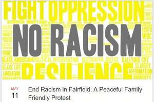 A protest against racism has been organized for Saturday May 11 in Fairfield after an event that included police and black male took place back in April at a Fairfield U. beach event.