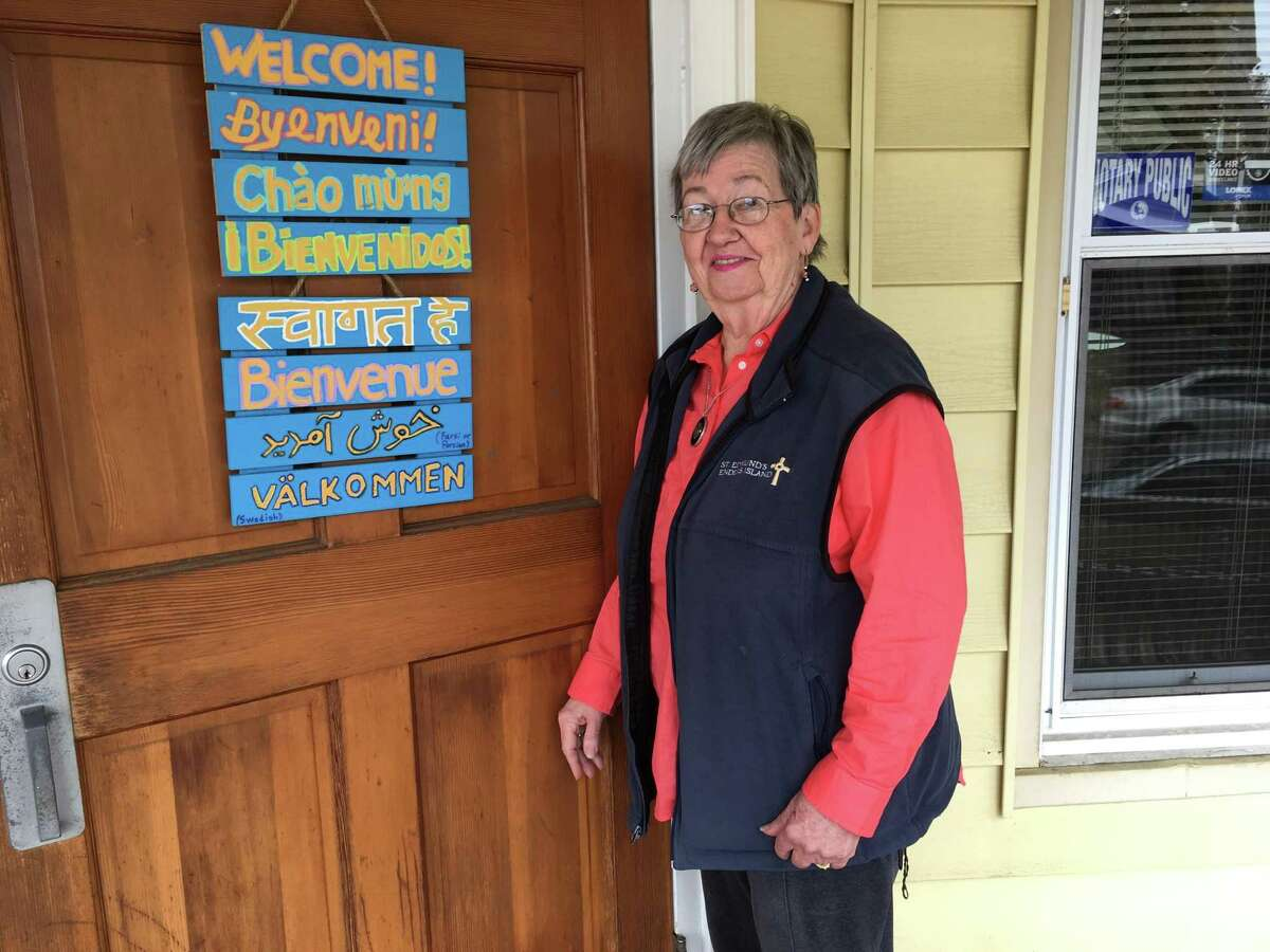 Jean Fredericks, 76, of Stratford, is the director of the preschool program at Caroline House, a mission run since 1995 by the School Sisters of Notre Dame.
