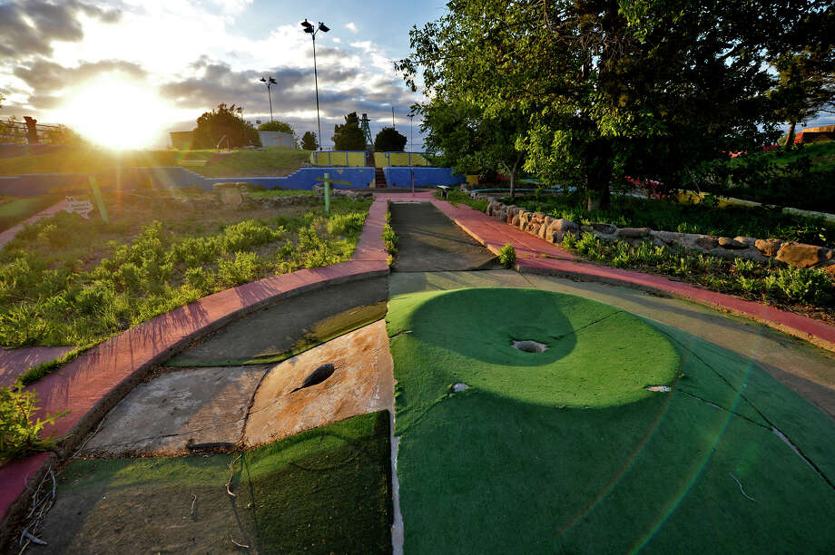 May 9, 2019 at Green Acres miniature golf course on Highway 80 east of downtown Midland. James Durbin/Reporter-Telegram Photo: James Durbin / Midland Reporter- / © 2019 All Rights Reserved