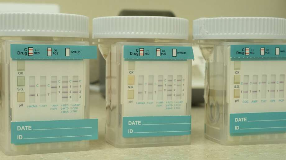 According to Drug Screen Compliance, the positive rate for drug tests is 18 percent, twice the national rate of 9 percent. These tests were positive for a combination of marijuana, cocaine and opiates. Photo: Tim Fischer/Midland Reporter-Telegram