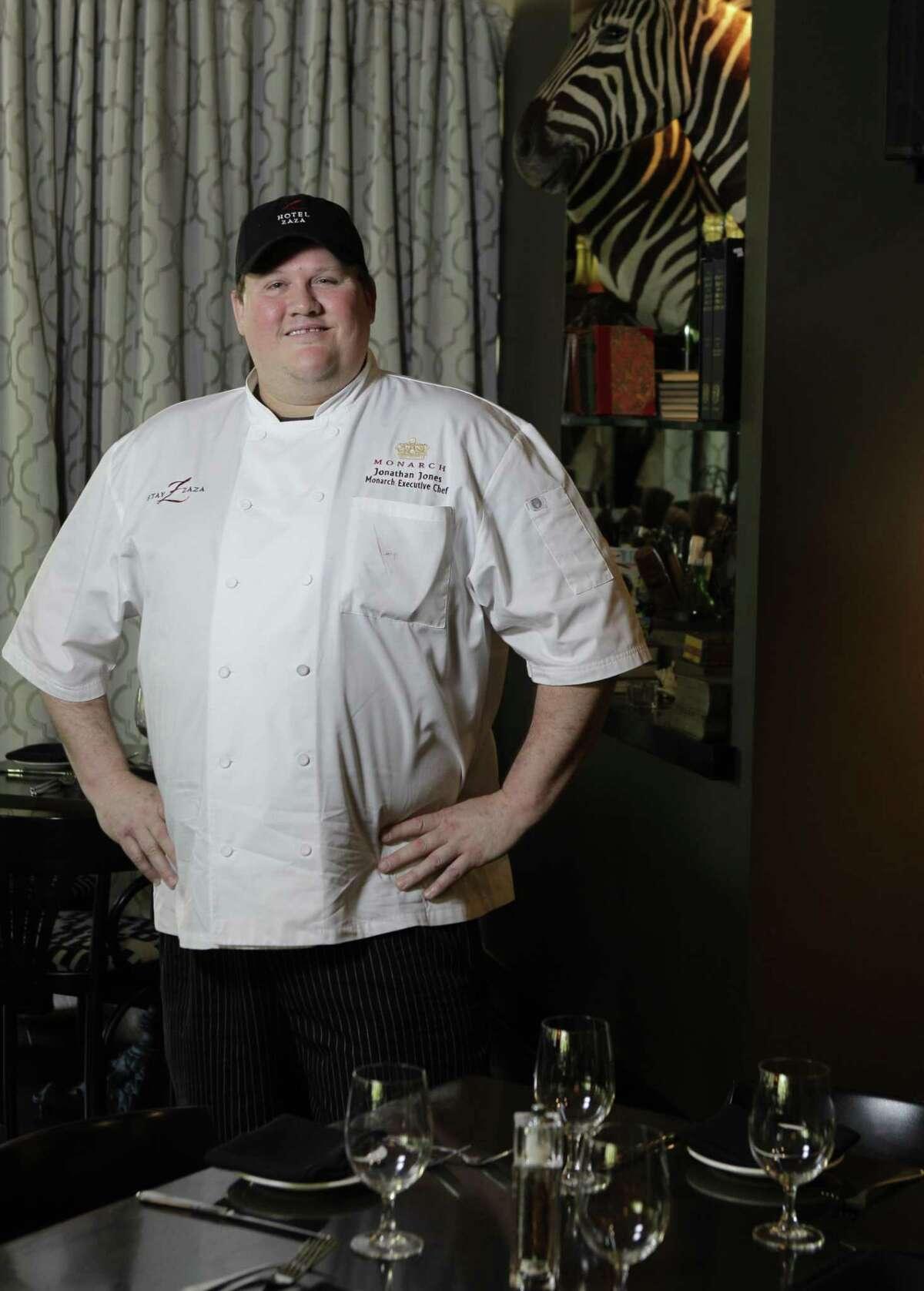 BEFORE: Chef Jonathan Jones says he had hit rock bottom.