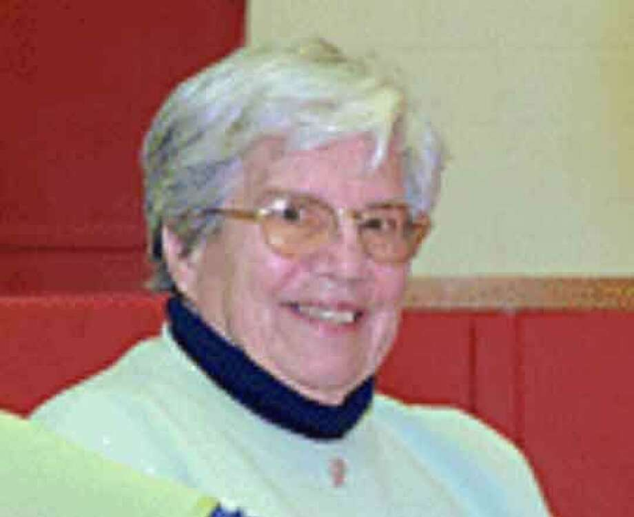 Edna Fraser, a former centerfielder for the Raybestos Brakettes, former Foran High School athletic director and the woman for whom the Foran High School gym is named, died May 3 at the age of 85. Photo: Hearst Connecticut Media File Photo