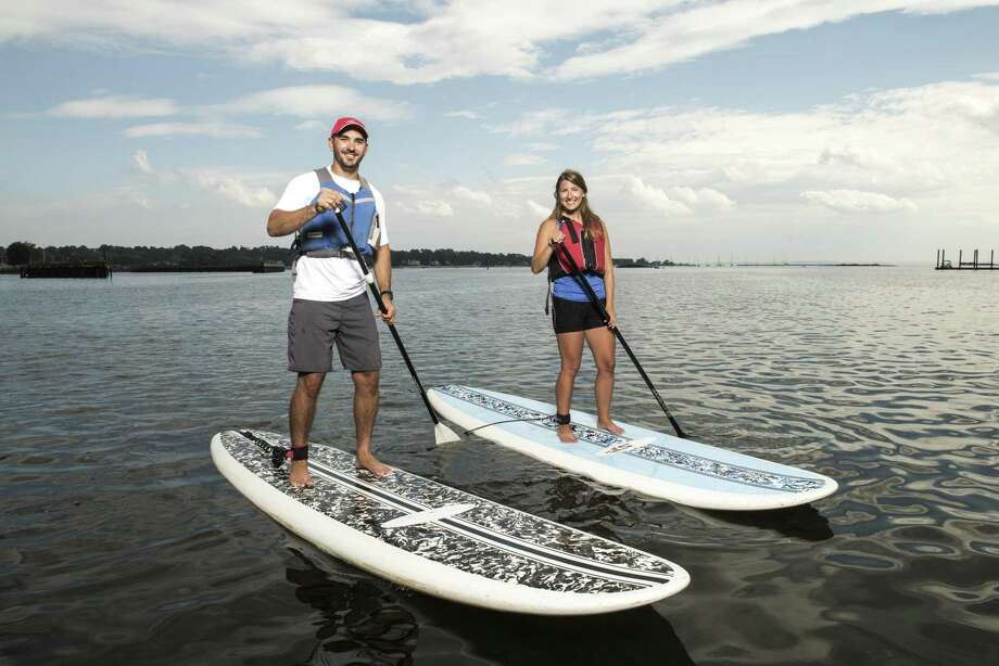 SoundWaters is offering free kayak or stand up paddle board rentals on the Long Island Sound on Saturday, May 18, and Sunday, May 19. Photo: Contributed Photo/Michael Bagley / Contributed Photo/Michael Bagley / Stamford Advocate Contributed