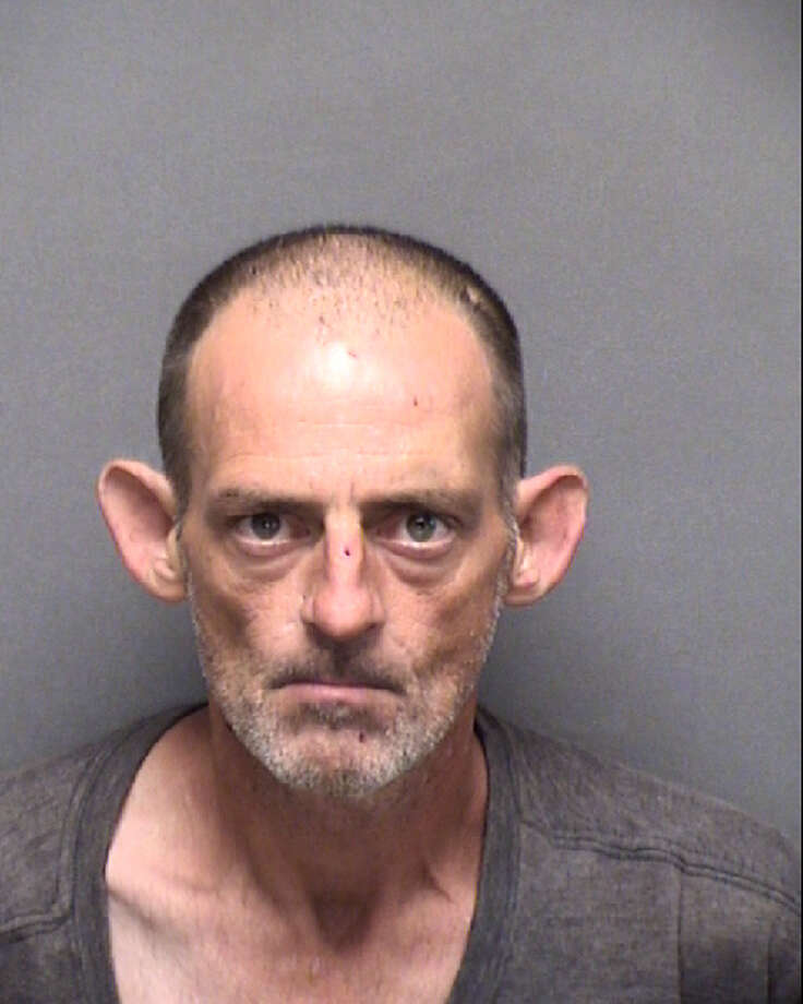Daniel Geiger, 46, was charged with two counts of aggravated robbery. Photo: Bexar County Jail