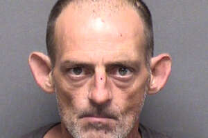 Daniel Geiger, 46, was charged with two counts of aggravated robbery.