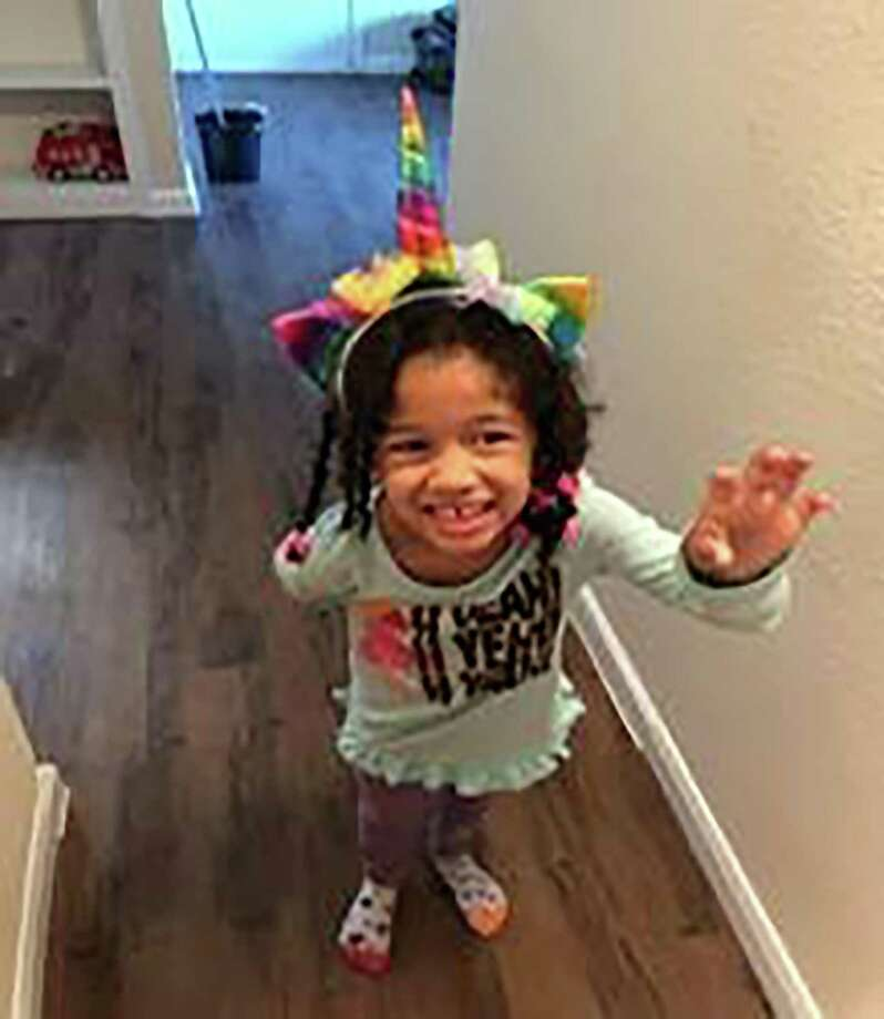 This undated photo released by the Houston Police Department shows Maleah Davis. Houston police are trying to determine what happened to the 4-year-old girl after her stepfather said she was taken by men who released him and his 2-year-old son after abducting them as well. An Amber Alert was issued Sunday morning, May 7, 2019, for Maleah Davis. (Houston Police Department via AP) Photo: Associated Press / Houston Police Department