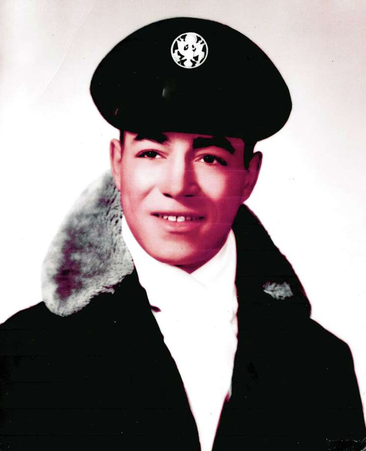 George Johnson shortly after he enlisted in the Air Force. Photo: Johnson Family