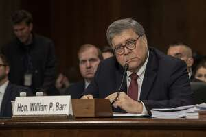 U.S. Attorney General William Barr testifies before the Senate Appropriations Committee in the Dirksen Senate Office Building on May 1. Barr did his job in releasing his summary of the Mueller report.
