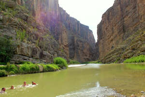 """Top-Rate River Rafting at Big Bend National Park, TX In the southwest corner of Texas, Big Bend's swath of desert-meets-mountains upholds that old """"everything feels bigger in Texas"""" chestnut: the canyons here are vast, the vistas are wide, and the night skies are expansive and crammed with stars. However, in spring, the park is as much about its larger-than-life features as it is about the details: hiking trails are less crowded, cacti are blooming, multitudes of birds take refuge, and the Rio Grande's flow is at its peak, making Big Bend one of the West's best rafting destinations."""