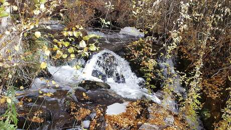 A proposed hydroelectric complex in the Owens Valley to help the state meet its clean power goals would dam the waters of Lower Rock Creek. Photo: Sierra Club