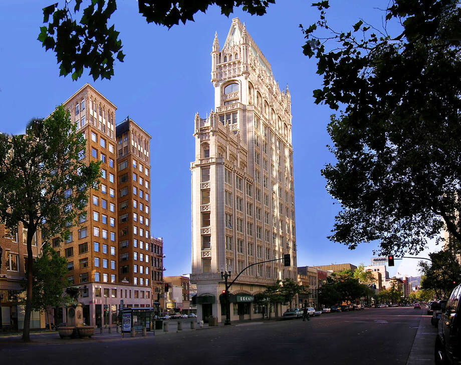 Rent this famous and historic apartment in Oakland's Cathedral Building for $6,000 a month. Photo: Christina Sutton/Vanguard