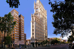 Rent this famous and historic apartment in Oakland's Cathedral Building for $6K a month