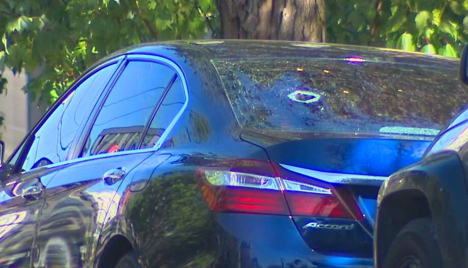A shooting in Seattle's Central District on May 10 left at least two people wounded. The Seattle police reported that suspects fled the scene shortly thereafter. Photo: KOMO News Photo