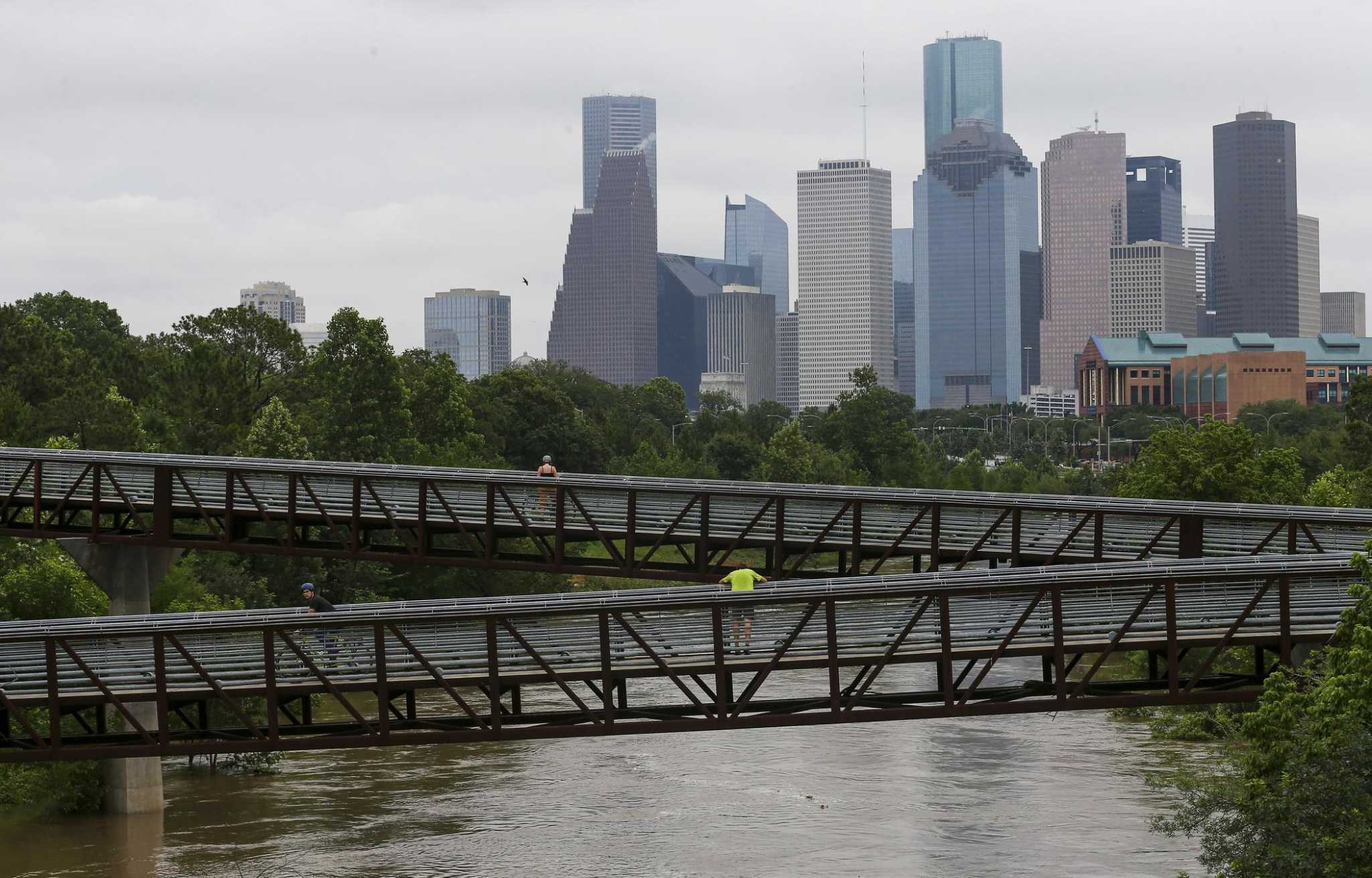 heavy rain blamed for sewer overflows in houston area