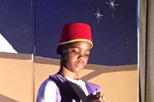 Hall School students perform Aladdin on Friday, May 10, 2019. Bridgeport