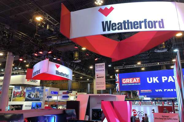 Struggling oilfield service company Weatherford International posted an $821 million loss during the third quarter.