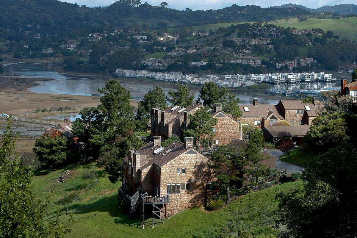 Marin City that was initially built to house shipyard workers. Part of Headlands II overlooking Richardson's bay. on Tuesday Mar 4, 2009 in Marin City, Calif