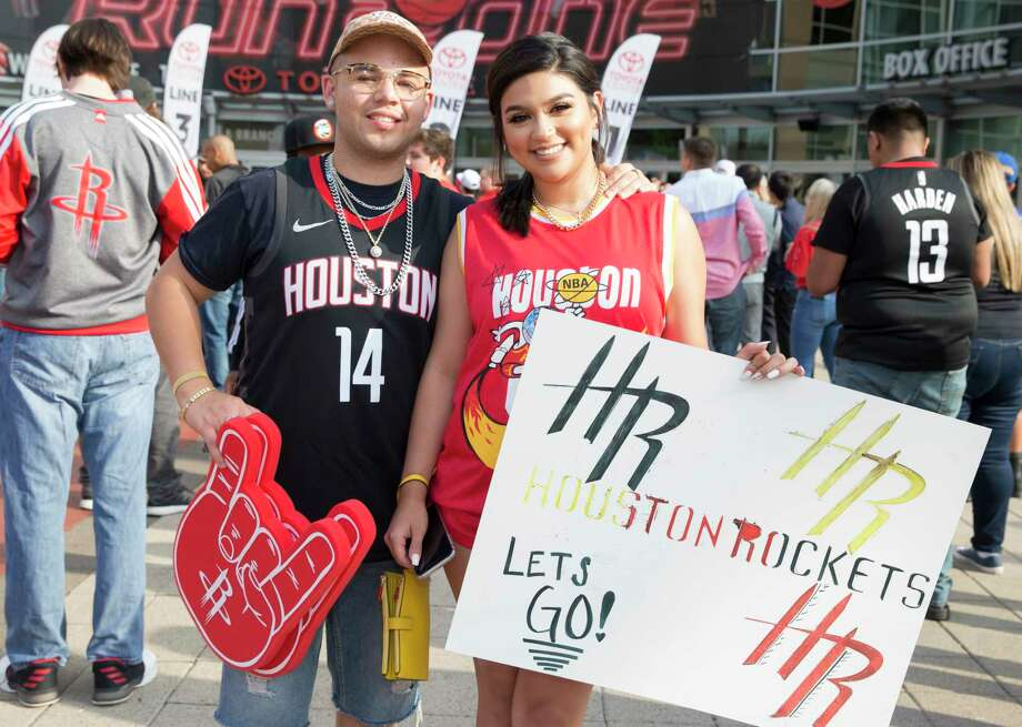 PHOTOS: A look at Rockets fans at Game 6 against the Warriors