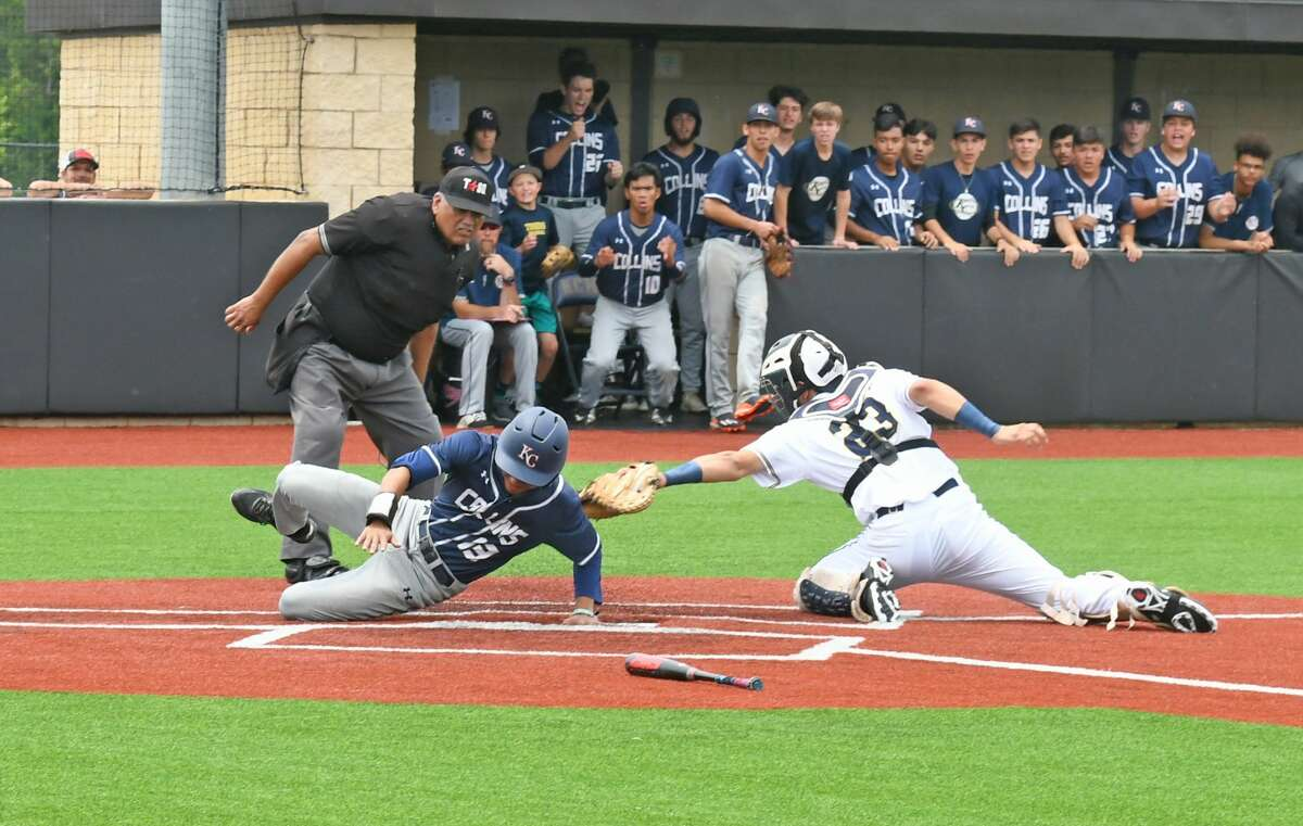Klein Collins was up 2-1 heading into the bottom of the seventh inning, three outs away from the regional quarterfinals, but allowed the tying run in the bottom half and then allowed the winning run an inning later for the 3-2 final.