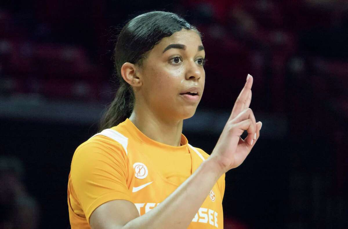 COLLEGE PARK, MD - MARCH 23: Tennessee Lady Vols guard Evina Westbrook (2) at the free throw line during a NCAA Div. 1 Women's championship first round game between the Tennessee Lady Vols and UCLA Bruins on March 23, 2019, at Xfinity Center, in College Park, Maryland. (Photo by Tony Quinn/Icon Sportswire via Getty Images)