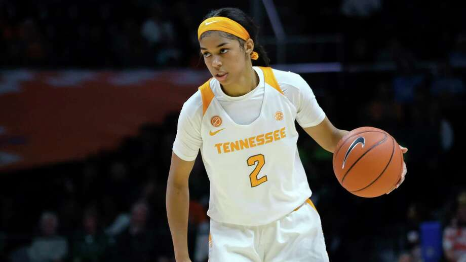 Evina Westbrook, who transferred to UConn from Tennessee. The NCAA has denied her waiver, so Westbrook is not eligible to play this season. Photo: Shawn Millsaps / AP / Copyright 2019 The Associated Press. All rights reserved.