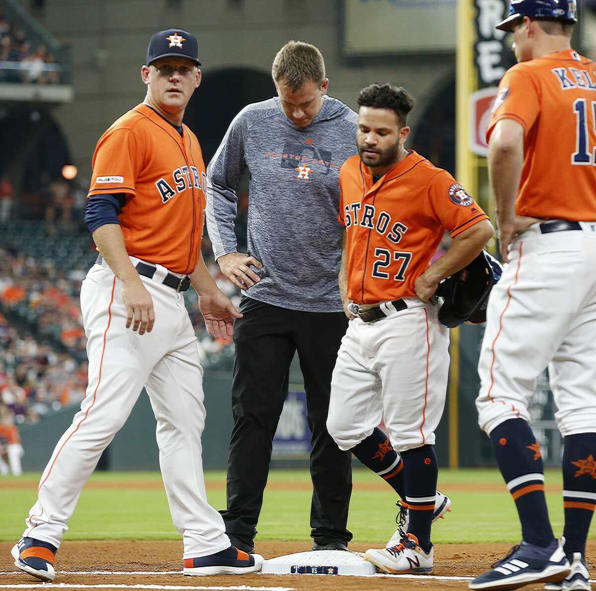 Jose Altuve, 2B, hamstring Atluve appeared almost ready to return from the hamstring injury that landed him on the injured list, but he reported