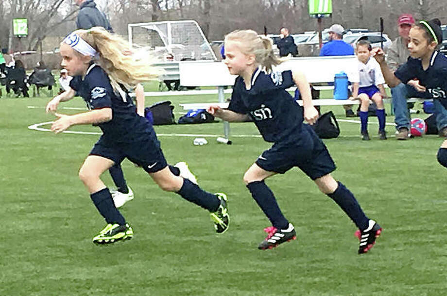 Alton Fighting Irish soccer club tryouts for the upcoming season are set for May 13-19 at Glazebrook Park in Godfrey. The team will sponsor teams for boys and girls ranging from those born in 2001 to those born in 2013. Photo: Submitted Photo