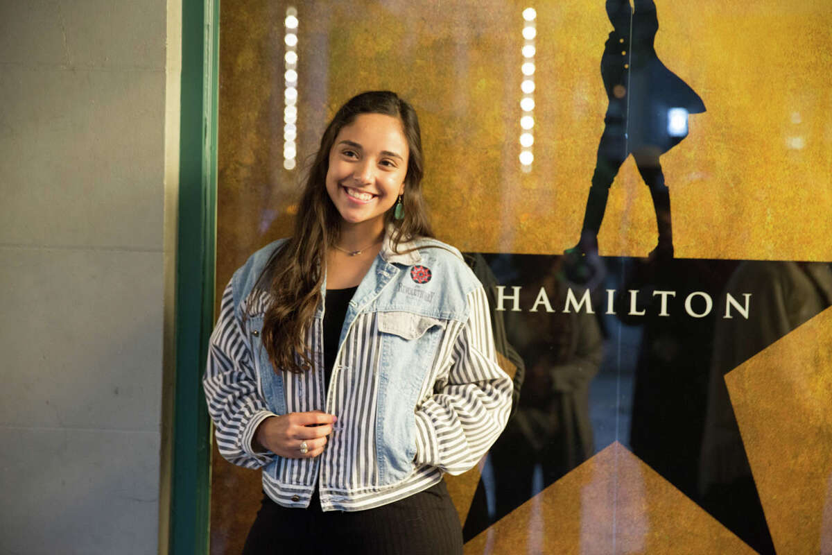 The line for Hamilton in San Antonio was as long as America's history on Friday, May 10, 2019, at the Majestic & Empire Theatres.