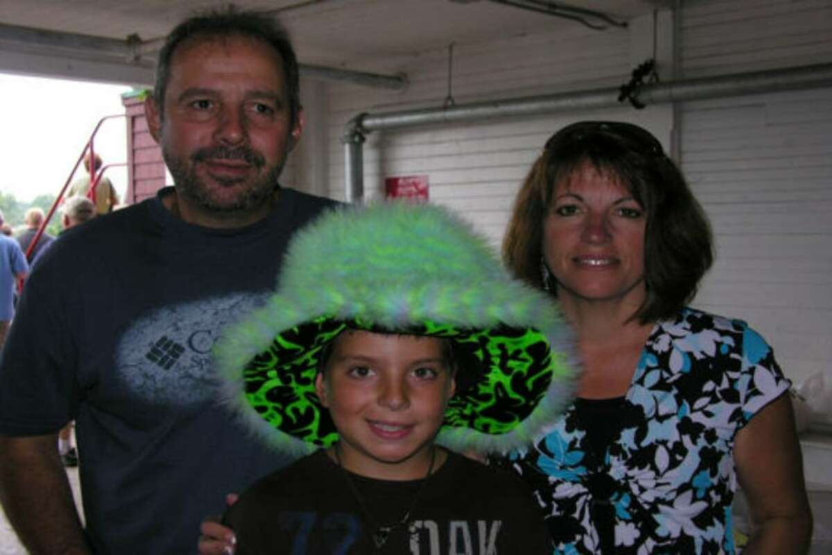 Were you seen at 2009 Saratoga Race Course Hat Day?