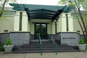 Exterior of the Bruce Museum.