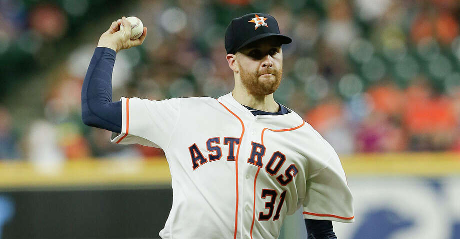 PHOTOS: Astros game-by-game Collin McHugh of the Houston Astros pitches in the first inning against the Kansas City Royals at Minute Maid Park in Houston on Tuesday, May 7, 2019. The Royals won, 12-2. (Bob Levey/Getty Images/TNS) Browse through the photos to see how the Astros have fared in each game this season. Photo: Bob Levey/TNS