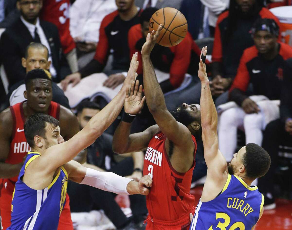 ... but lacked the killer instinct in the closing minutes of the Game 6 loss to the Warriors that eliminated the Rockets from the conference semifinals.