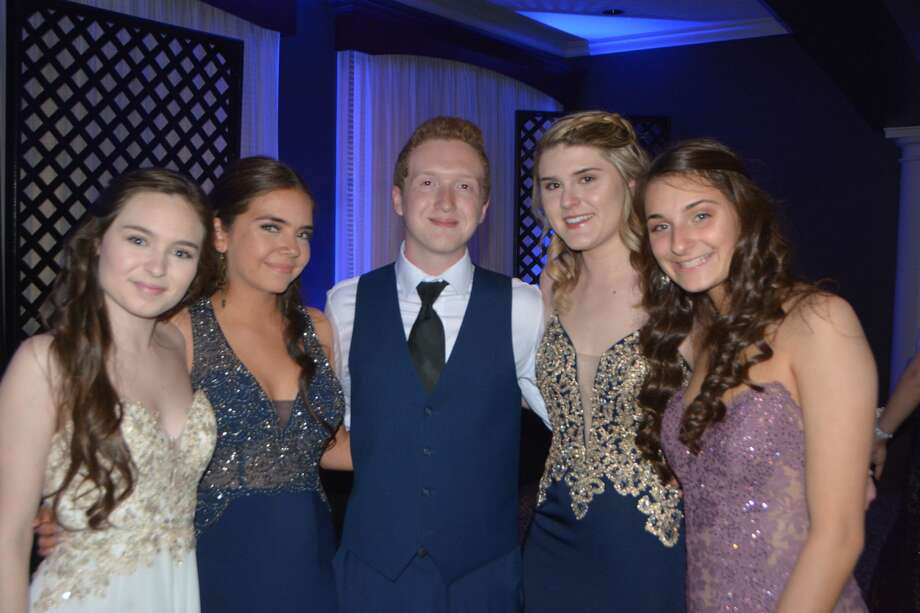 New Milford High School held its prom at the Amber Room Colonnade in Danbury on May 11, 2019. Were you SEEN? Photo: Vic Eng / Hearst Connecticut Media Group