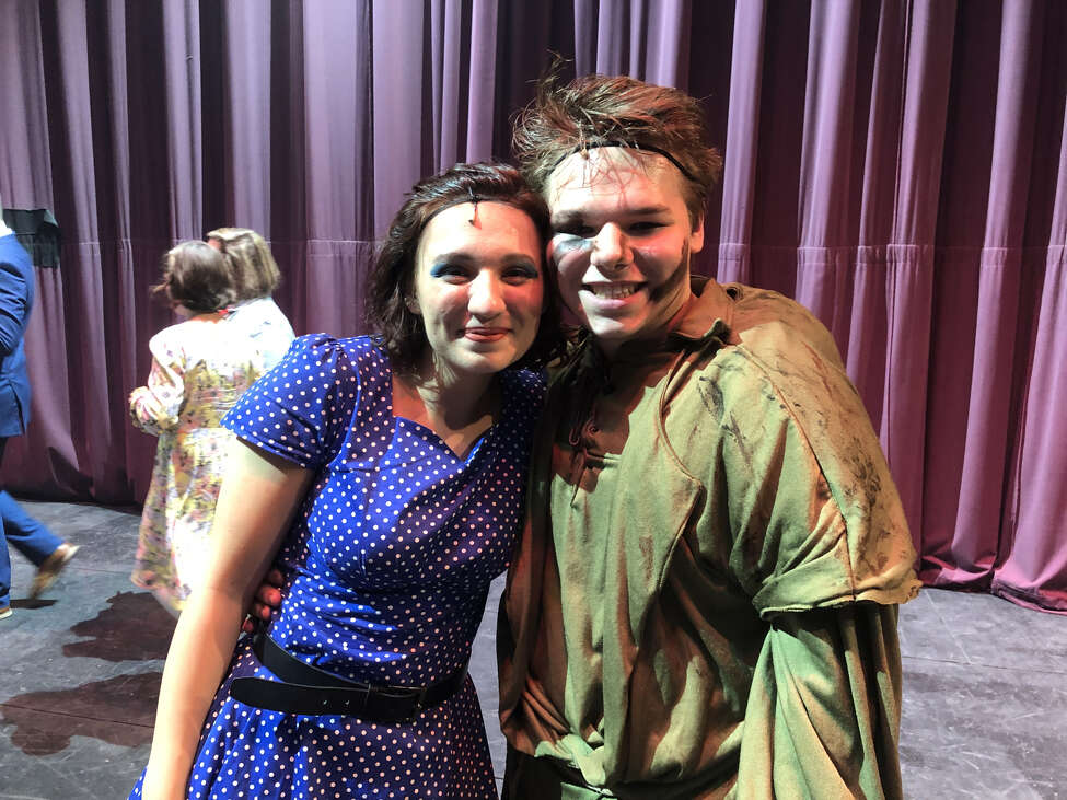 Best Actress winner Signe Naranjo of South Glens Falls High School won in the role of Gertrude McFuzz in Seussical the Musical. Best Actor winner Michael Johnson of Hudson Falls High School won in the role of Quasimodo in The Hunchback of Notre Dame.